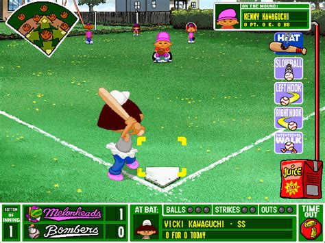 play backyard baseball online free download backyard baseball windows my abandonware
