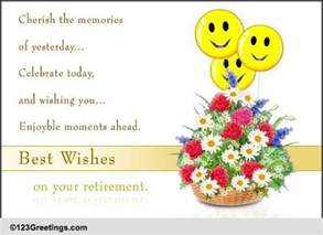 congratulations retirement cards free congratulations retirement wishes 123 greetings