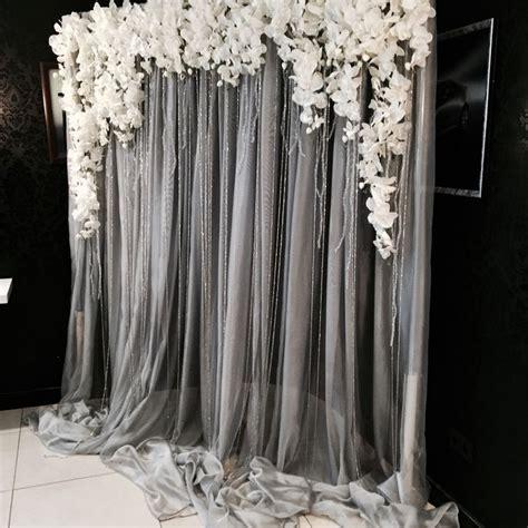 diy wedding curtain backdrop best 25 diy wedding backdrop ideas on pinterest wedding