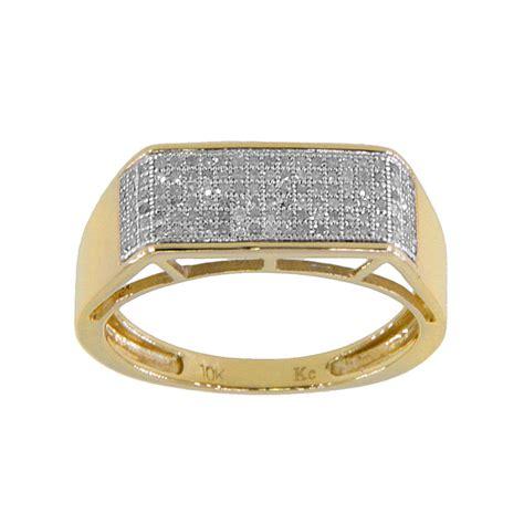 10k yellow gold s 1 3ct tdw wedding ring ebay