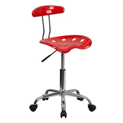 Tractor Seat Desk Chair by Best Tractor Seat Chrome Metal Computer Task Desk Office