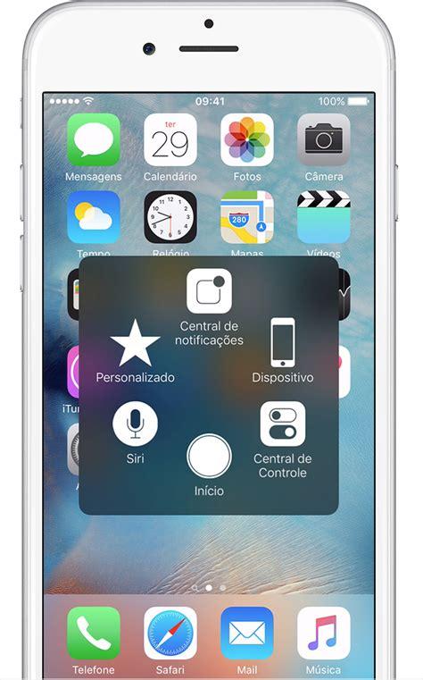 iphone menu usar o assistivetouch no iphone ou ipod touch suporte da apple