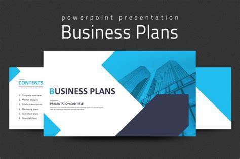 business template powerpoint 20 business plan powerpoint template ppt and pptx format