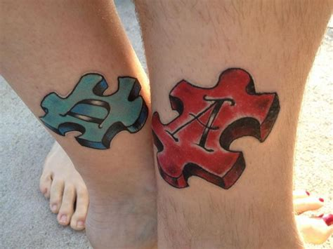 3d puzzle piece tattoo 40 cool puzzle design ideas hative
