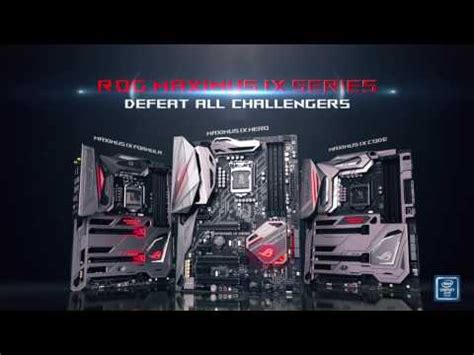 Mobo Intel Asus Motherboard Rog Maximus Ix Code asus rog maximus ix code atx gaming motherboard ln77232
