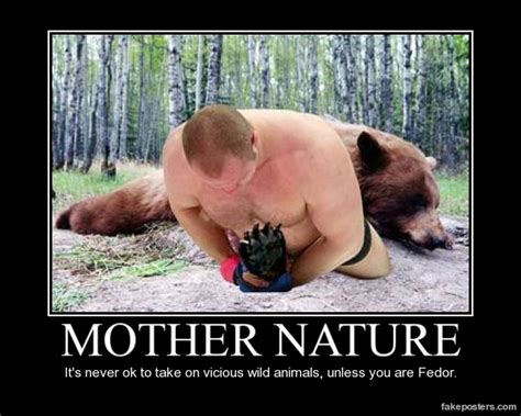Fedor Emelianenko Meme - gorilla fights bear memes