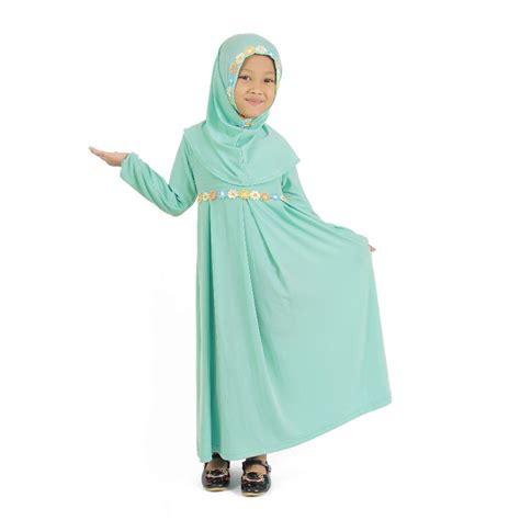 busana muslim anak perempuan cantik dan manis 2017 fashion trendy modis chic syar i