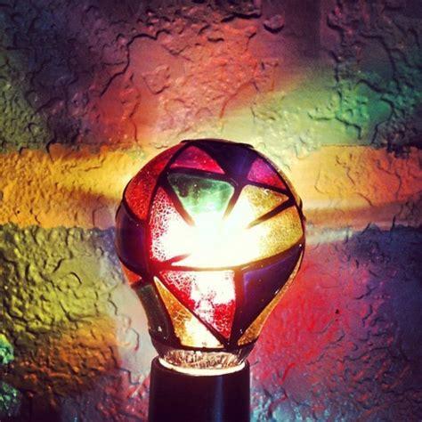stained glass light bulb stained glass light bulb 187 petagadget