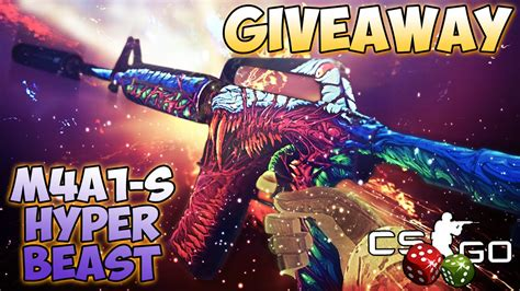 Hyper Giveaway - giveaway m4a1 s hyper beast ft csgodices com youtube