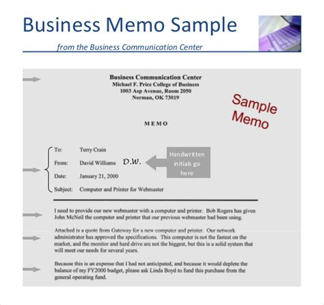 business memo templates 14 free word pdf documents