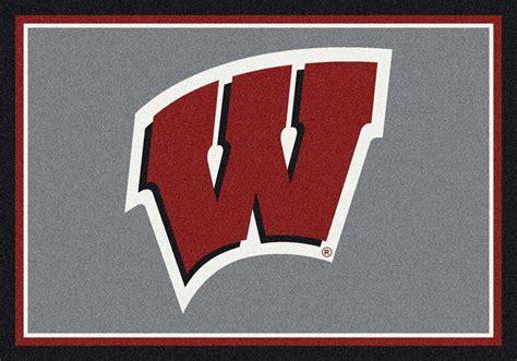 Wisconsin Badgers wisconsin badgers area rug ncaa badgers area rugs