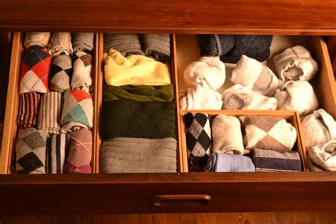 How To Organize Your Sock And Drawer by How To Use Bamboo Trays As Drawer Organizers