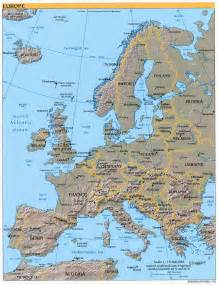 Labeled Europe Map by Maps Map Of Europe Labeled