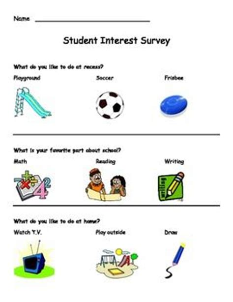 survey of preschool teachers reveals most struggling to 34 best images about interest inventory on pinterest