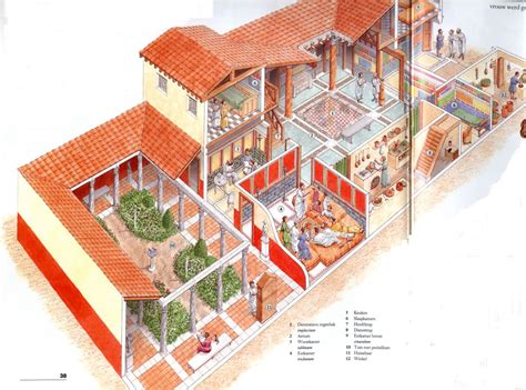 plan of a roman house villas home and the o jays on pinterest