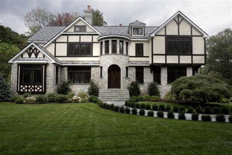 french tudor homes french tudor inspired exterior traditional exterior