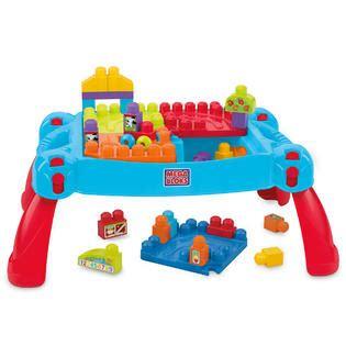 mega bloks builders build n go table building blocks mega bloks build n learn table toys blocks