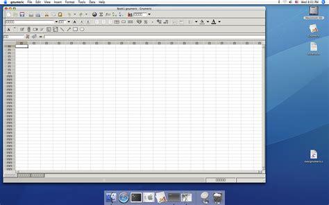 Mac Spreadsheet Program by Spreadsheet Software