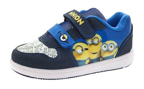 boys sports shoes sale sale boys despicable me minions trainers skate pumps