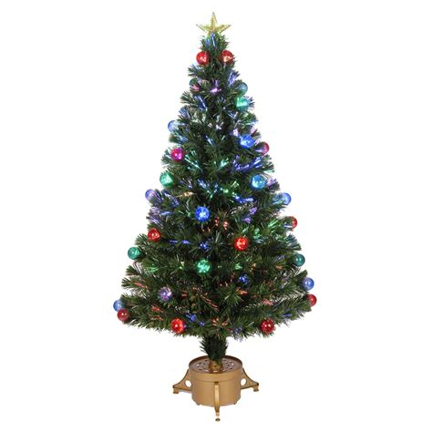 pre lit tree with twinkling lights shop merske jolly workshop 4 ft pre lit artificial