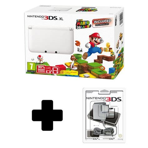 Nintendo 3ds Xl Mario 3d Land Original N3ds nintendo 3ds xl white with mario 3d land preinstalled limited edition nintendo
