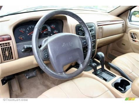 Jeep Grand Limited Interior Camel Interior 2000 Jeep Grand Laredo 4x4 Photo
