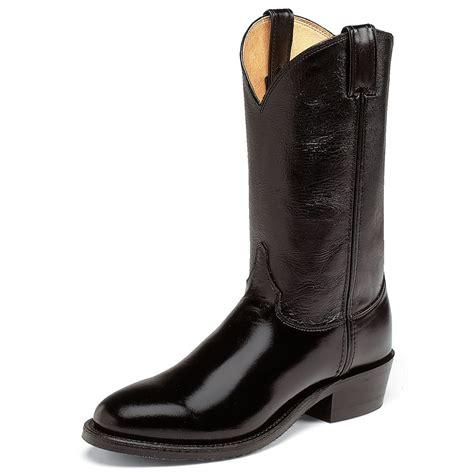 justin mens cowboy boots justin boots s 3040 western classic 12 quot cowboy boot