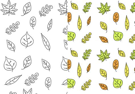 leaf pattern eps leaf pattern vector free download