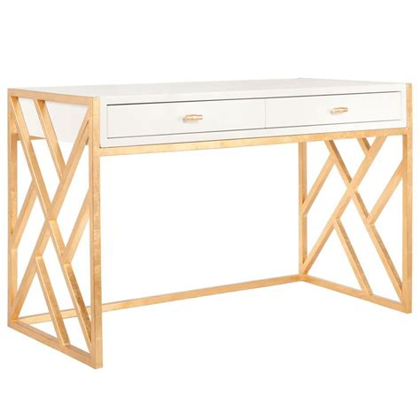 gold and white writing desk 72 best dresser study images on pinterest bedroom