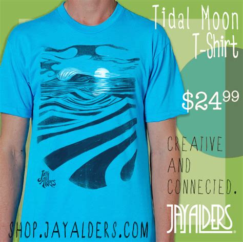 T Shirt Tshirt T Shirt Surfing Kaos Surfing Billabong A5142 tidal moon surf t shirt by alders