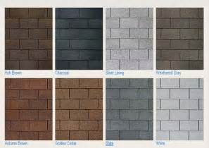 roof colors asphalt shingles asphalt shingle colors