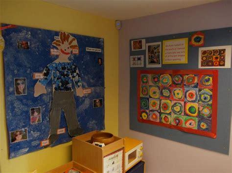 Nursery Display Racks by Millfield Nursery School Class Displays