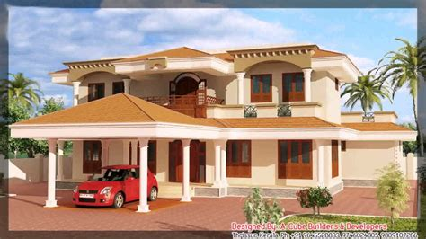 house plans in kerala with estimate kerala style house plans with estimates youtube