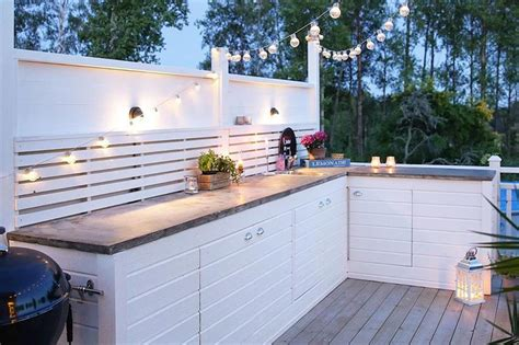 incredible outdoor kitchens wed love  cook