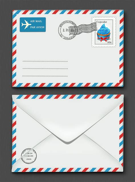 Letter Envelope Create A Photorealistic Letter Envelope In Photoshop