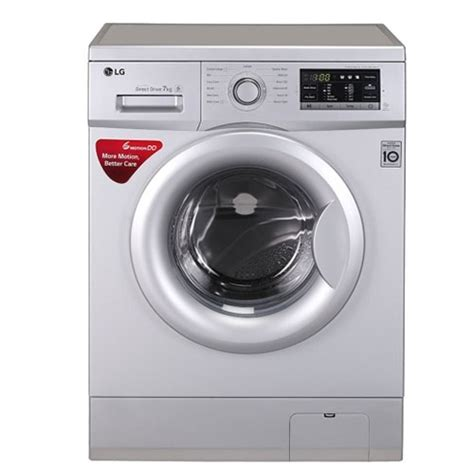 Lg Washing Machine With Built In Mp3 Player by Lg Fh0g7qdnl52 Price Specifications Features Reviews