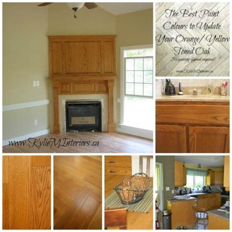 the best paint colours to go with oak trim floor cabinets and more the o jays furniture