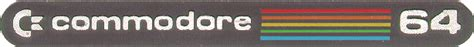 Stiker Cbu Japan commodore 64 japanese edition computer the 8 bit