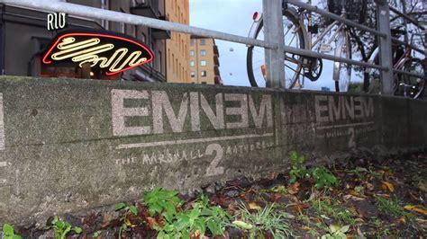 eminem mmlp reverse graffiti  sweden youtube