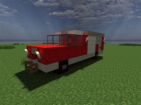 minecraft fire truck lapiz point s vehicle pack fire trucks realisitc