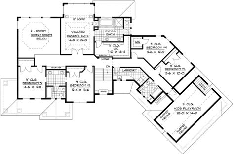 Traditional Colonial House Plans by Colonial European Traditional House Plan 42111