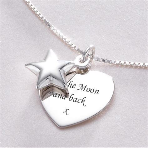 engraved necklaces personalised name necklaces