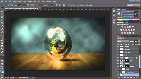 tutorial photoshop it isolate layers photoshop cc tutorial youtube
