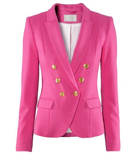 Topi H M Pink 41 best images about blazer on tweed jackets breasted blazer and pink jacket