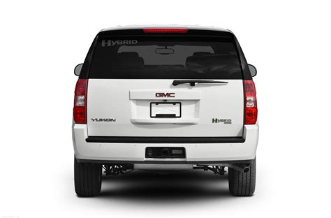 gmc yukon back 2010 gmc yukon hybrid price photos reviews features