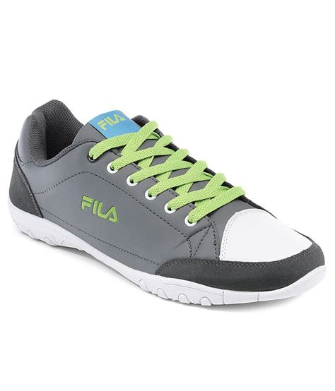 fila skate shoes fila skate gray white casual shoes price in india buy