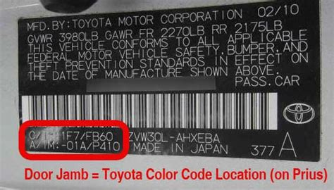 toyota touch up paint color code and directions for toyota paintscratch