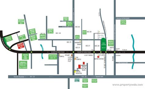 Sample Of Floor Plan For House Amrapali Terrace Homes Noida Extension Greater Noida