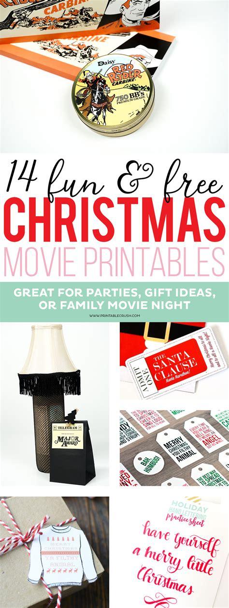 christmas present for your crush free printables printable crush