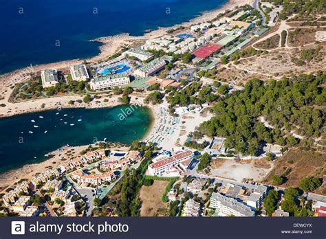 ibiza des torrent des torrent ibiza balearic islands spain stock